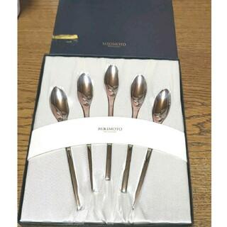ミキモト(MIKIMOTO)のミキモト カラトリースプーン(食器)