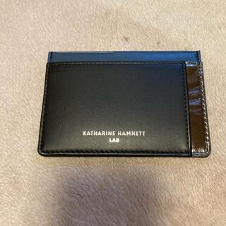 キャサリンハムネット(KATHARINE HAMNETT)のキャサリンハムネットカードケース(名刺入れ/定期入れ)