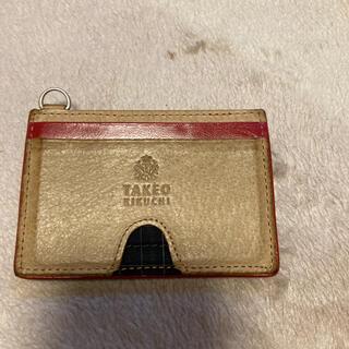 タケオキクチ(TAKEO KIKUCHI)のタケオキクチカードケース(キーケース/名刺入れ)