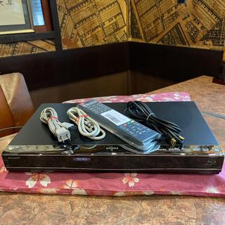 SHARP - SHARP BD-W550 12倍 2番組W録 500GB 外付HDD フル装備