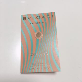 ブルガリ(BVLGARI)のブルガリ レ ジェンメ コラリア オードパルファム 1.5ml(サンプル/トライアルキット)