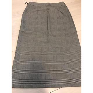 ジーユー(GU)のチェックタイトスカート(その他)