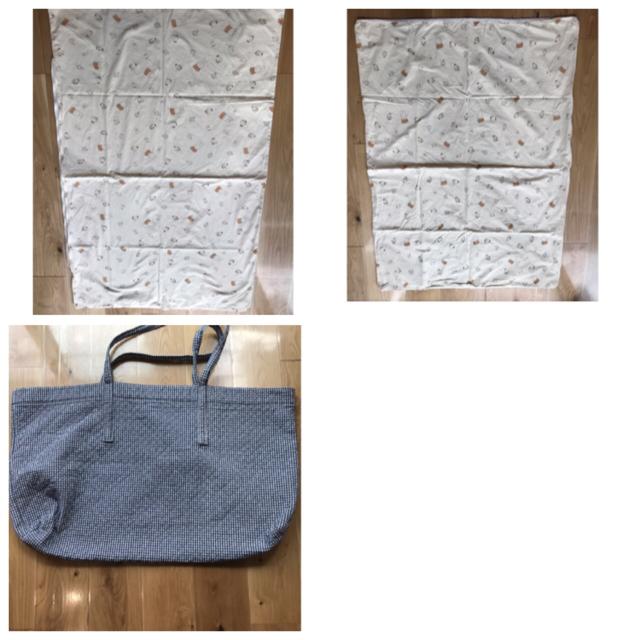 西川(ニシカワ)のお昼寝布団セット キッズ/ベビー/マタニティの寝具/家具(ベビー布団)の商品写真