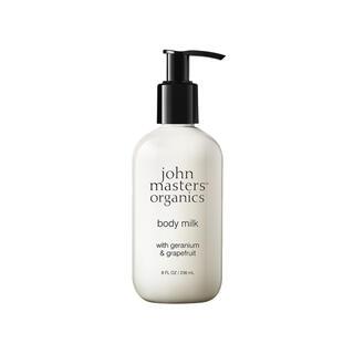 ジョンマスターオーガニック(John Masters Organics)のジョンマスターオーガニック G&GボディミルクN(ゼラニウム&グレープフルーツ)(ボディローション/ミルク)