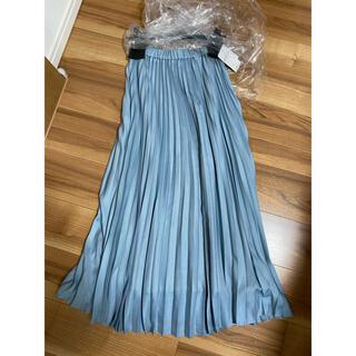 ユナイテッドアローズ(UNITED ARROWS)の新品 プリーツスカート (ロングスカート)