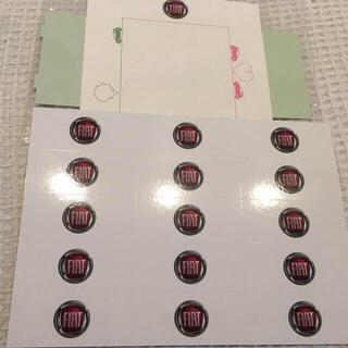 フィアット メッセージカード 15枚(その他)