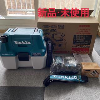 Makita - Makita  充電式集じん機(乾湿両用)バッテリー、充電器付