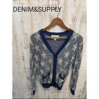 デニムアンドサプライラルフローレン(Denim & Supply Ralph Lauren)のDENIM&SUPPLY デニム&サプライ カーディガン ニット ラルフローレン(カーディガン)