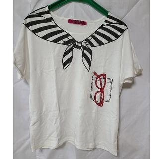 ドーリーガールバイアナスイ(DOLLY GIRL BY ANNA SUI)の【DOLLY GIRL BY ANNA SUI】プリントTシャツ(Tシャツ(半袖/袖なし))
