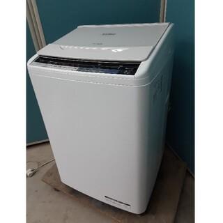 日立 - 日立 全自動洗濯機8.0kg ナイアガラビート洗浄 自動お掃除 BW-V80A