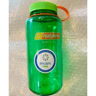 ナルゲン(Nalgene)のナルゲン ワイドマウスボトル 1ℓ メロンボール 新品未使用(登山用品)