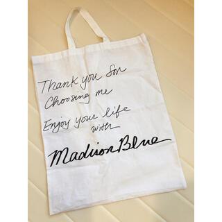 マディソンブルー(MADISONBLUE)のMadisonBlue マディソンブルー メッセージバッグ(トートバッグ)