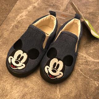 ディズニー(Disney)のミッキー  スリッポン 可愛い 13.0cm(スリッポン)