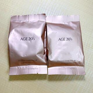 2つセット AGE20'S  エイジトゥエンティーズ リフィル #23(ファンデーション)