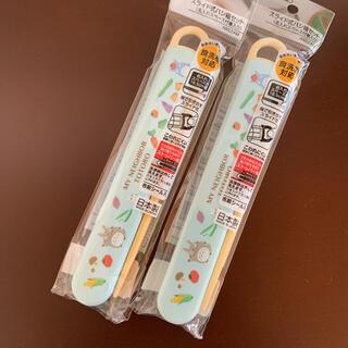 ジブリ(ジブリ)の新品 トトロ スライド式箸箱セット 2個(弁当用品)