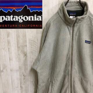patagonia - パタゴニア シンチラ フルジップ フリースジャケット ライトグレー 古着男子