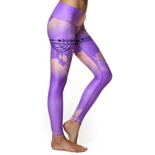 Teeki Yoga purple haze ピンクパープルクラウド xs(ヨガ)