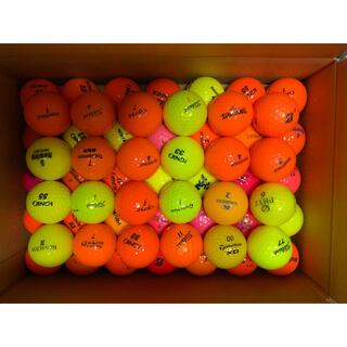 タイトリスト(Titleist)のロストボール カラーボール 59個(ゴルフ)