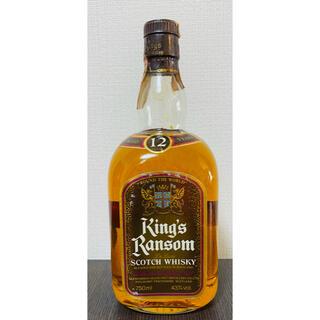 キングスランサム12年 70〜80年代(ウイスキー)