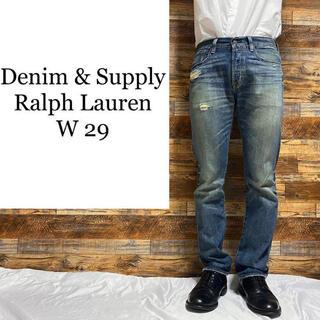 Denim & Supply Ralph Lauren - デニム&サプライラルフローレン☆テーパードジーンズ メンズ古着 w29 ジーパン