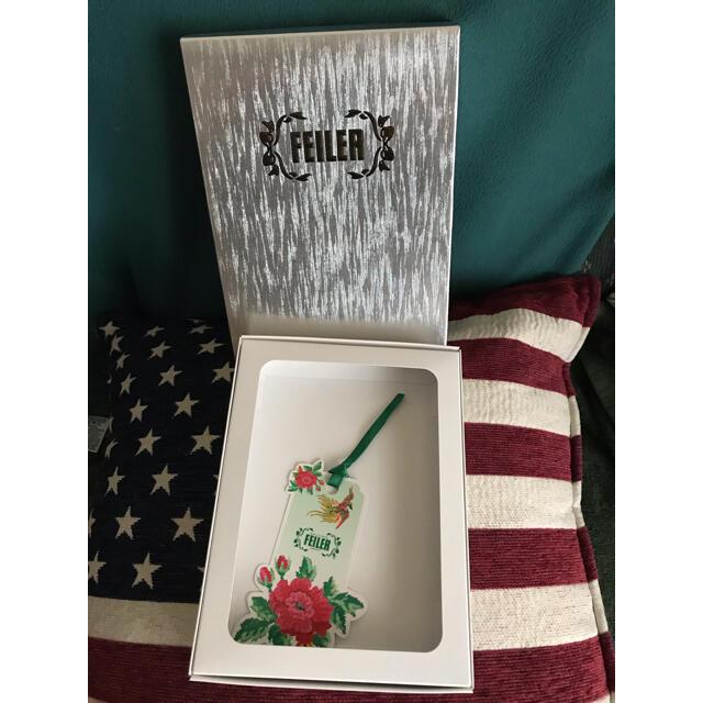 FEILER(フェイラー)のFEILER 空箱 インテリア/住まい/日用品の収納家具(ケース/ボックス)の商品写真