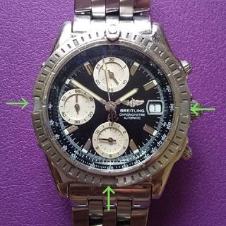 ブライトリング(BREITLING)のジャンク品 ブライトリング クロノマットエボリューション A13352 中古(腕時計(アナログ))