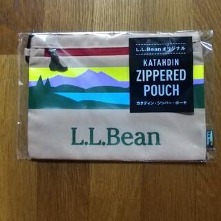 エルエルビーン(L.L.Bean)の新品未使用  L.L.Beanカタディン·ジッパー·ポーチ(ノベルティグッズ)