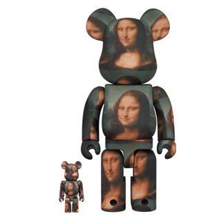 メディコムトイ(MEDICOM TOY)のBE@RBRICK LEONARD DE VINCI Mona Lisa(フィギュア)