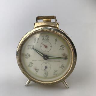 セイコー(SEIKO)の昭和レトロSEIKOセイコー目覚まし時計コロナ当時物アンティークビンテージ古道具(その他)