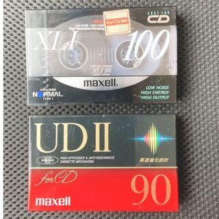 マクセル(maxell)の【新品】maxell カセットテープ 90分 100分 (その他)