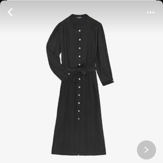 アーペーセー(A.P.C)のfrance  soeur paris black dress(ロングワンピース/マキシワンピース)