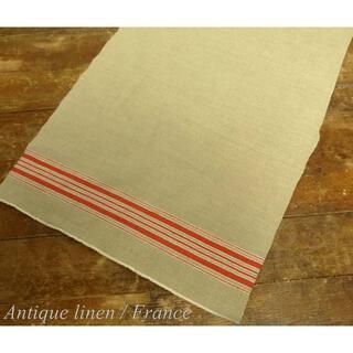(47×31cm)1940年代頃 フランス アンティーク リネンクロス(その他)