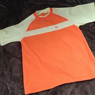 ウィルソン(wilson)の『Wilson』ウィルソン 蛍光カラー ポリエステルシャツ(Tシャツ/カットソー(半袖/袖なし))