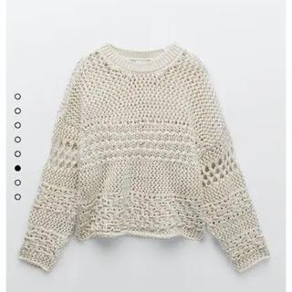 ZARA - ZARA テクスチャーニットセーター