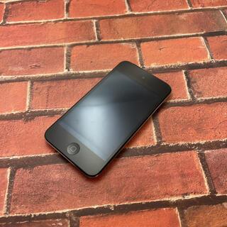 アイポッドタッチ(iPod touch)のiPod touch 第4世代 32GB A1367ブラック(ポータブルプレーヤー)