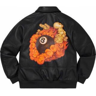 Supreme - supreme  schott  8ball  leather jacket