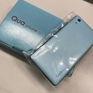 京セラ - au SIMロック解除済 Qua phone QZ KYV44 チョコミント