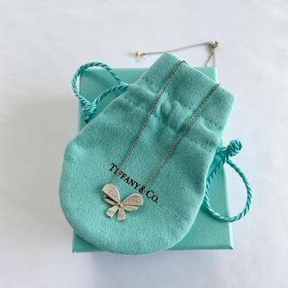 ティファニー(Tiffany & Co.)のTIFFANY&Co. ティファニー バタフライペンダント ネックレス(ネックレス)
