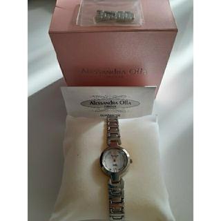 アレッサンドラオーラ(ALESSANdRA OLLA)のALESSANDRA☆アレサンドラ☆腕時計レディース/電池切れ(腕時計)