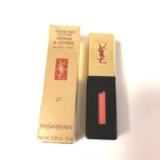 イヴサンローランボーテ(Yves Saint Laurent Beaute)の大特価!YSL イヴ・サンローラン ルージュピュールクチュールヴェルニ 27(口紅)