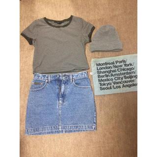 カルバンクライン(Calvin Klein)のカルバンクライン デニムミニスカート(ミニスカート)
