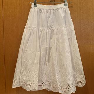 GU - GU girls エンブロイダリー スカート  150cm
