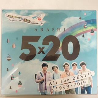 アラシ(嵐)の嵐 5×20 JAL国内線限定盤 アルバム(男性アイドル)