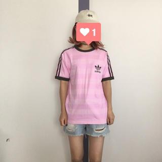 アディダス(adidas)のadidas ロゴTEE(Tシャツ/カットソー(半袖/袖なし))