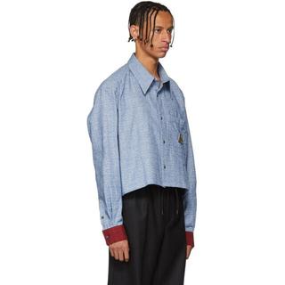 RAF SIMONS - Xander Zhou クロップドシャツジャケット