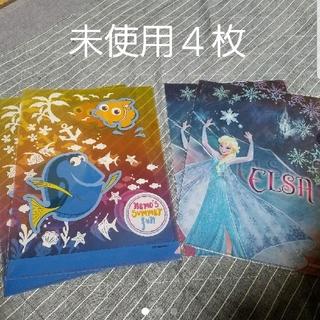 ディズニー(Disney)のアナ雪 ニモ クリアファイル 4枚セット ディズニー ピクサー 未使用(クリアファイル)