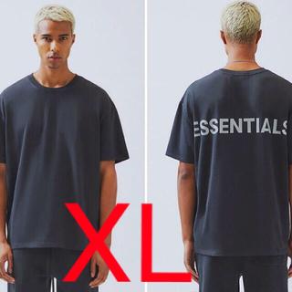 フィアオブゴッド(FEAR OF GOD)のFOG ESSENTIALS リフレクティブ Tシャツ BLACK サイズXL(Tシャツ/カットソー(半袖/袖なし))