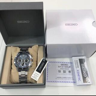 セイコー(SEIKO)の新品同様!SEIKO SPIRIT SBTR027 クロノグラフ 腕時計(腕時計(アナログ))