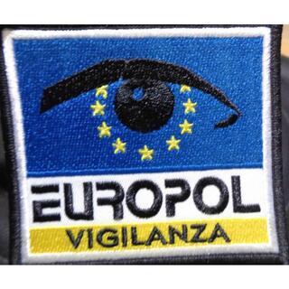 新品Europol欧州刑事警察機構ユーロポール  ポリス 刺繍ワッペン(パッチ)(その他)
