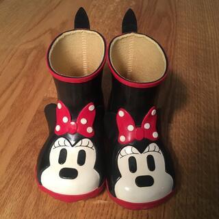 ダイアナ(DIANA)のDiana 14cm ディズニーミニー レインシューズ(長靴/レインシューズ)